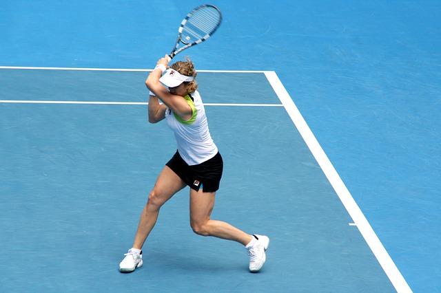 テニスのレシーブ